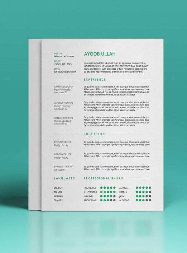 free-resume-template